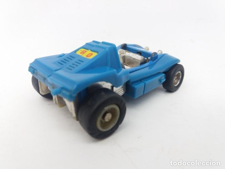 Figuras y Muñecos Transformers: Escaso Bugui Transformer referencia Robo Mr-08 Popy Blue fabricado el 1982 en Japón, Buggy - Foto 2 - 175255235