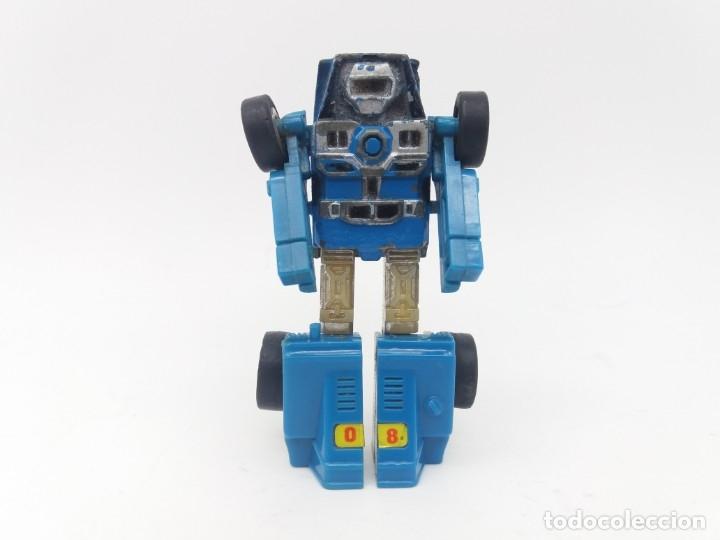 Figuras y Muñecos Transformers: Escaso Bugui Transformer referencia Robo Mr-08 Popy Blue fabricado el 1982 en Japón, Buggy - Foto 3 - 175255235