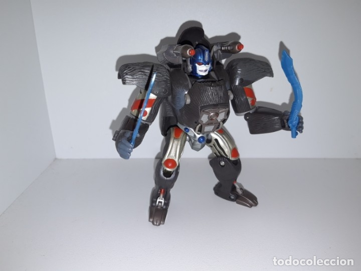 Figuras y Muñecos Transformers: FIGURA TRANSFORMERS ROBOT MASTERS RM 11 OPTIMUS PRIMAL BEAST WARS TAKARA HASBRO + DVD ESPECIAL - Foto 2 - 176105200