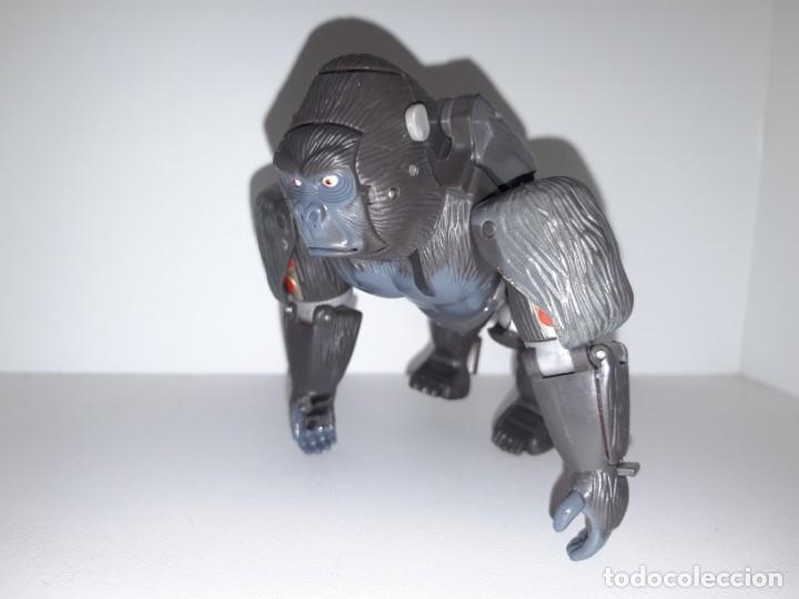 Figuras y Muñecos Transformers: FIGURA TRANSFORMERS ROBOT MASTERS RM 11 OPTIMUS PRIMAL BEAST WARS TAKARA HASBRO + DVD ESPECIAL - Foto 4 - 176105200