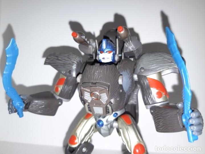 Figuras y Muñecos Transformers: FIGURA TRANSFORMERS ROBOT MASTERS RM 11 OPTIMUS PRIMAL BEAST WARS TAKARA HASBRO + DVD ESPECIAL - Foto 6 - 176105200