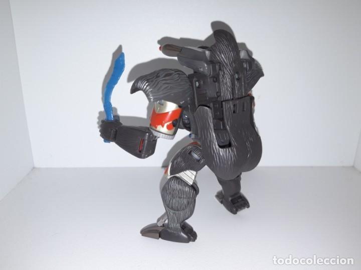 Figuras y Muñecos Transformers: FIGURA TRANSFORMERS ROBOT MASTERS RM 11 OPTIMUS PRIMAL BEAST WARS TAKARA HASBRO + DVD ESPECIAL - Foto 7 - 176105200