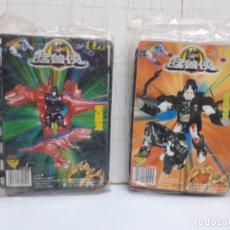 Figure e Bambolotti Transformers: FIGURAS BOOTLEG TRANSFORMERS ROBOT MASTERS RM-11 OPTIMUS PRIMAL RM-02 MEGATRON BEAST WARS NO TAKARA. Lote 176106292