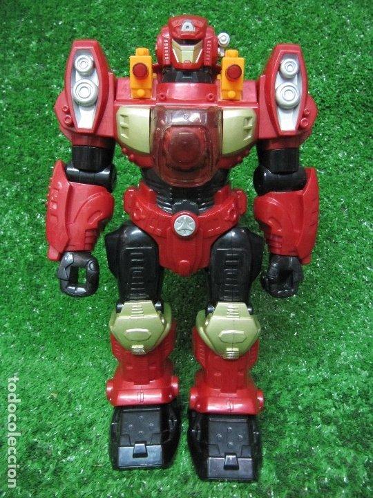 ROBOT TRANSFORMERS LUZ SONIDO Y MOVIMIENTO HAPPY KID TOY 2008 31CM (Juguetes - Figuras de Acción - Transformers)