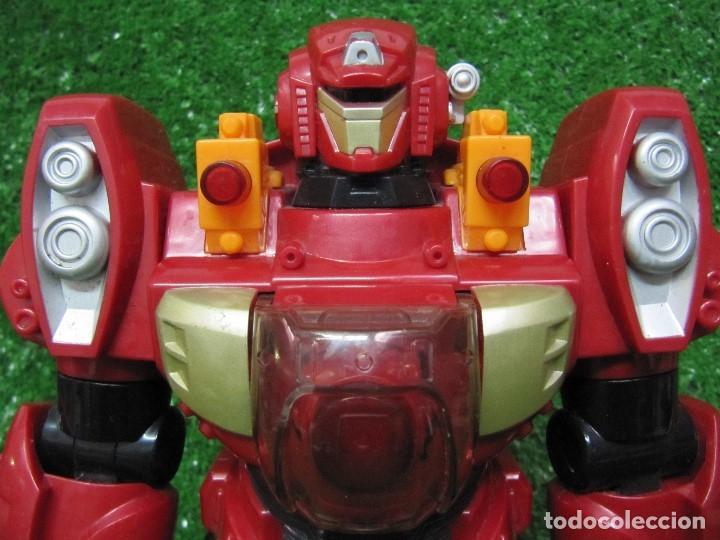 Figuras y Muñecos Transformers: Robot Transformers Luz sonido y movimiento Happy Kid Toy 2008 31CM - Foto 2 - 176171800