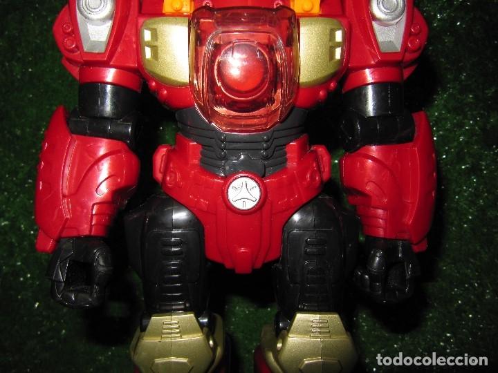 Figuras y Muñecos Transformers: Robot Transformers Luz sonido y movimiento Happy Kid Toy 2008 31CM - Foto 3 - 176171800