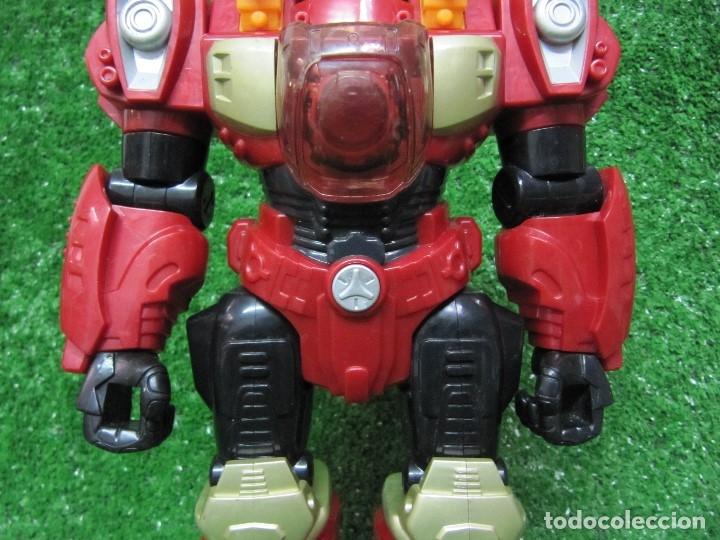 Figuras y Muñecos Transformers: Robot Transformers Luz sonido y movimiento Happy Kid Toy 2008 31CM - Foto 4 - 176171800