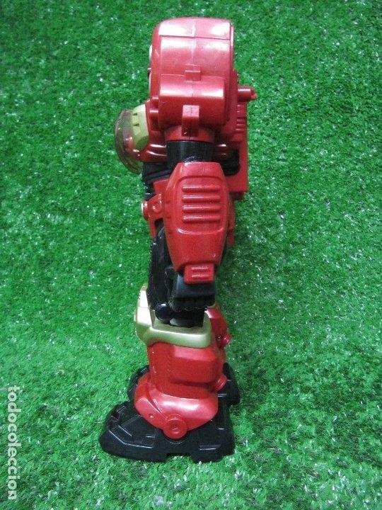 Figuras y Muñecos Transformers: Robot Transformers Luz sonido y movimiento Happy Kid Toy 2008 31CM - Foto 6 - 176171800