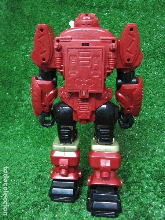 Figuras y Muñecos Transformers: Robot Transformers Luz sonido y movimiento Happy Kid Toy 2008 31CM - Foto 7 - 176171800