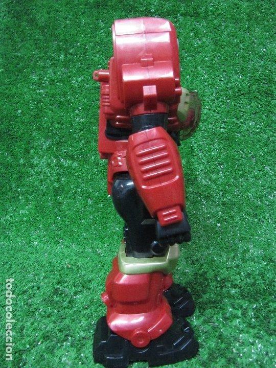 Figuras y Muñecos Transformers: Robot Transformers Luz sonido y movimiento Happy Kid Toy 2008 31CM - Foto 8 - 176171800