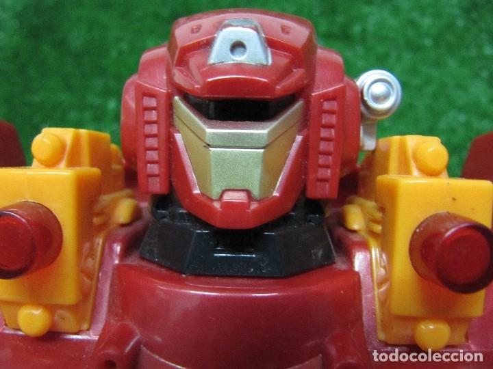 Figuras y Muñecos Transformers: Robot Transformers Luz sonido y movimiento Happy Kid Toy 2008 31CM - Foto 9 - 176171800