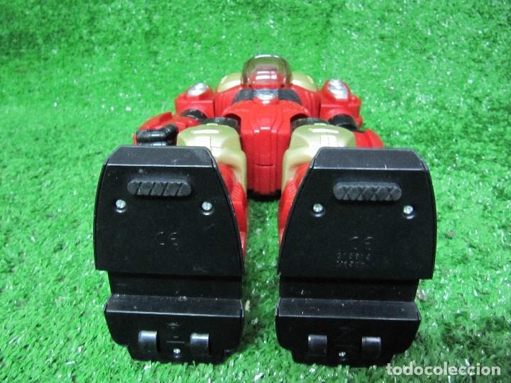 Figuras y Muñecos Transformers: Robot Transformers Luz sonido y movimiento Happy Kid Toy 2008 31CM - Foto 10 - 176171800