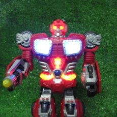 Figuras y Muñecos Transformers: ROBOT TRANSFORMERS LUZ SONIDO HAPPY KID TOY 2008 36CM. Lote 176172339