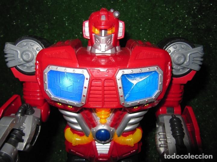 Figuras y Muñecos Transformers: Robot Transformers Luz sonido Happy Kid Toy 2008 36CM - Foto 2 - 176172339