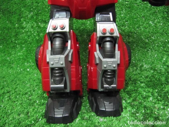 Figuras y Muñecos Transformers: Robot Transformers Luz sonido Happy Kid Toy 2008 36CM - Foto 4 - 176172339