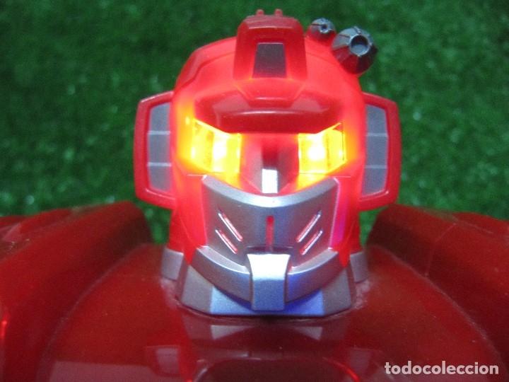 Figuras y Muñecos Transformers: Robot Transformers Luz sonido Happy Kid Toy 2008 36CM - Foto 5 - 176172339