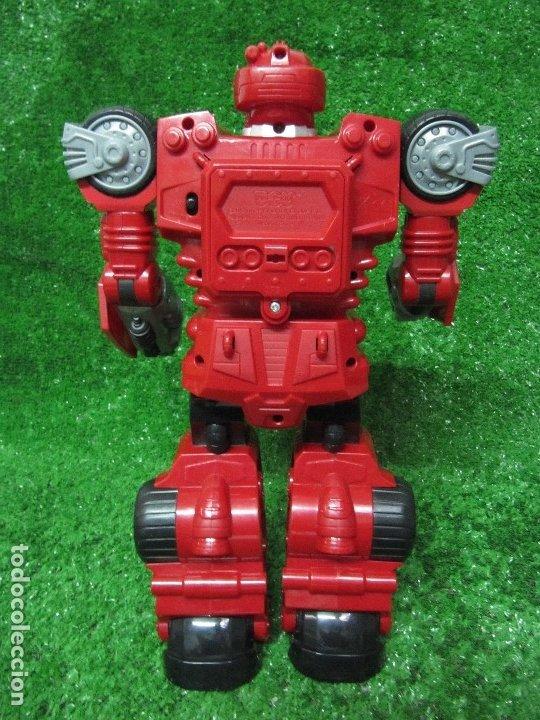 Figuras y Muñecos Transformers: Robot Transformers Luz sonido Happy Kid Toy 2008 36CM - Foto 7 - 176172339