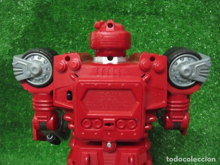 Figuras y Muñecos Transformers: Robot Transformers Luz sonido Happy Kid Toy 2008 36CM - Foto 8 - 176172339