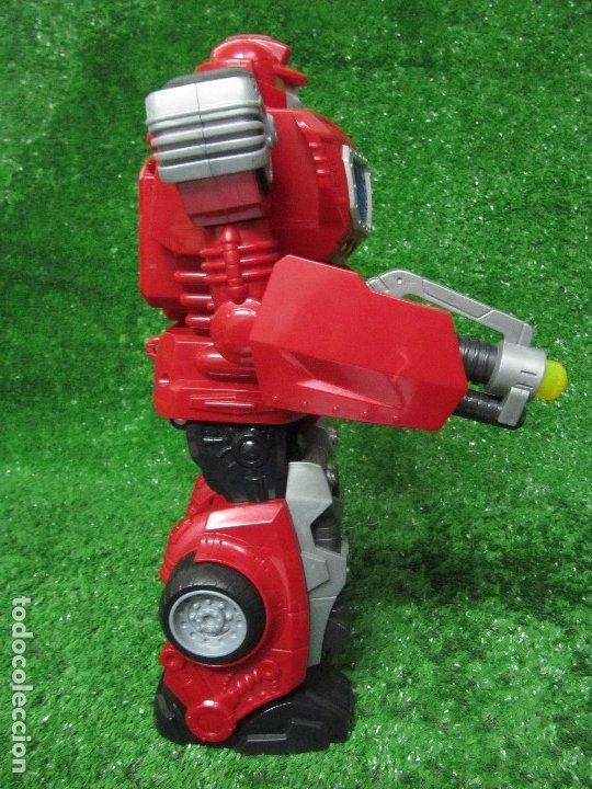 Figuras y Muñecos Transformers: Robot Transformers Luz sonido Happy Kid Toy 2008 36CM - Foto 9 - 176172339