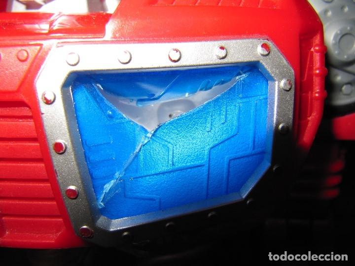 Figuras y Muñecos Transformers: Robot Transformers Luz sonido Happy Kid Toy 2008 36CM - Foto 10 - 176172339