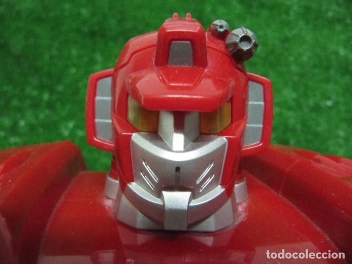 Figuras y Muñecos Transformers: Robot Transformers Luz sonido Happy Kid Toy 2008 36CM - Foto 12 - 176172339