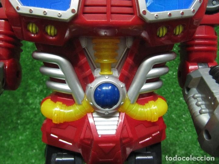 Figuras y Muñecos Transformers: Robot Transformers Luz sonido Happy Kid Toy 2008 36CM - Foto 13 - 176172339