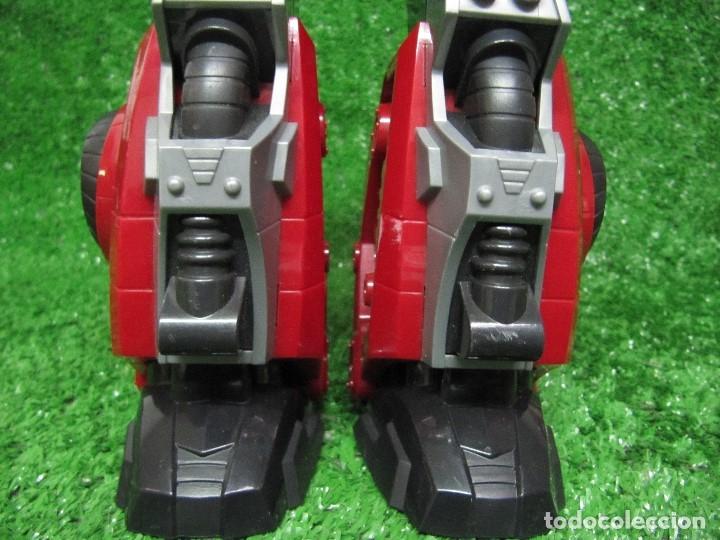 Figuras y Muñecos Transformers: Robot Transformers Luz sonido Happy Kid Toy 2008 36CM - Foto 14 - 176172339