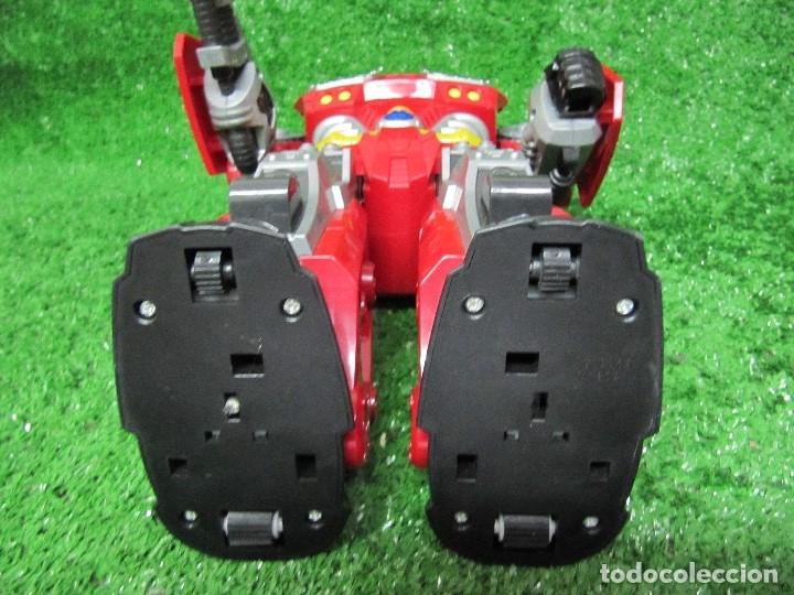 Figuras y Muñecos Transformers: Robot Transformers Luz sonido Happy Kid Toy 2008 36CM - Foto 17 - 176172339