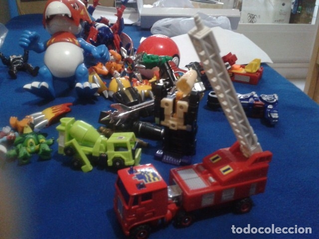 FIGURA TRANSFORMERS G1 KO ( MC TOYS - CAMION DE BOMBEROS CON MECANISMO DE TRACCION ) DE LOS 80 (Juguetes - Figuras de Acción - Transformers)