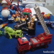 Figuras y Muñecos Transformers: FIGURA TRANSFORMERS G1 KO ( MC TOYS - CAMION DE BOMBEROS CON MECANISMO DE TRACCION ) DE LOS 80 . Lote 177322139