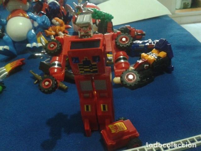 Figuras y Muñecos Transformers: FIGURA TRANSFORMERS G1 KO ( MC TOYS - CAMION DE BOMBEROS CON MECANISMO DE TRACCION ) DE LOS 80 - Foto 3 - 177322139