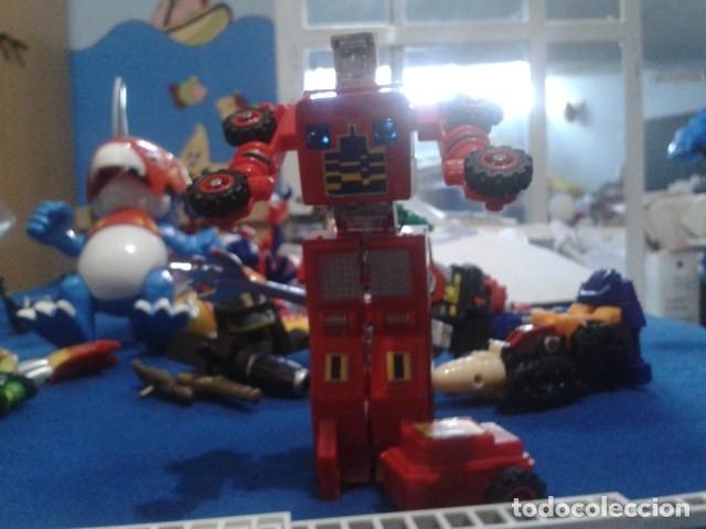 Figuras y Muñecos Transformers: FIGURA TRANSFORMERS G1 KO ( MC TOYS - CAMION DE BOMBEROS CON MECANISMO DE TRACCION ) DE LOS 80 - Foto 4 - 177322139