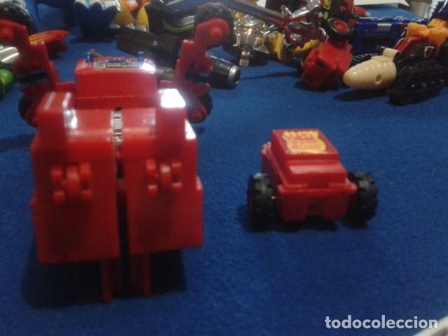 Figuras y Muñecos Transformers: FIGURA TRANSFORMERS G1 KO ( MC TOYS - CAMION DE BOMBEROS CON MECANISMO DE TRACCION ) DE LOS 80 - Foto 5 - 177322139