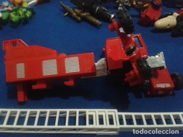 Figuras y Muñecos Transformers: FIGURA TRANSFORMERS G1 KO ( MC TOYS - CAMION DE BOMBEROS CON MECANISMO DE TRACCION ) DE LOS 80 - Foto 8 - 177322139
