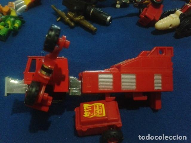 Figuras y Muñecos Transformers: FIGURA TRANSFORMERS G1 KO ( MC TOYS - CAMION DE BOMBEROS CON MECANISMO DE TRACCION ) DE LOS 80 - Foto 9 - 177322139