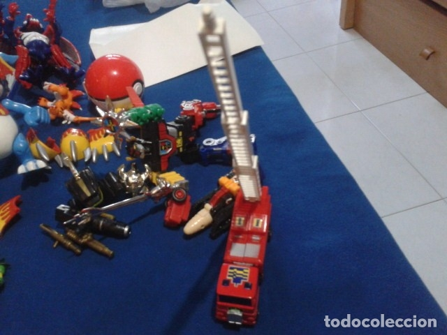 Figuras y Muñecos Transformers: FIGURA TRANSFORMERS G1 KO ( MC TOYS - CAMION DE BOMBEROS CON MECANISMO DE TRACCION ) DE LOS 80 - Foto 12 - 177322139