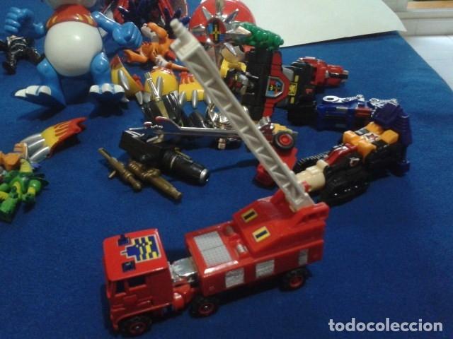 Figuras y Muñecos Transformers: FIGURA TRANSFORMERS G1 KO ( MC TOYS - CAMION DE BOMBEROS CON MECANISMO DE TRACCION ) DE LOS 80 - Foto 13 - 177322139