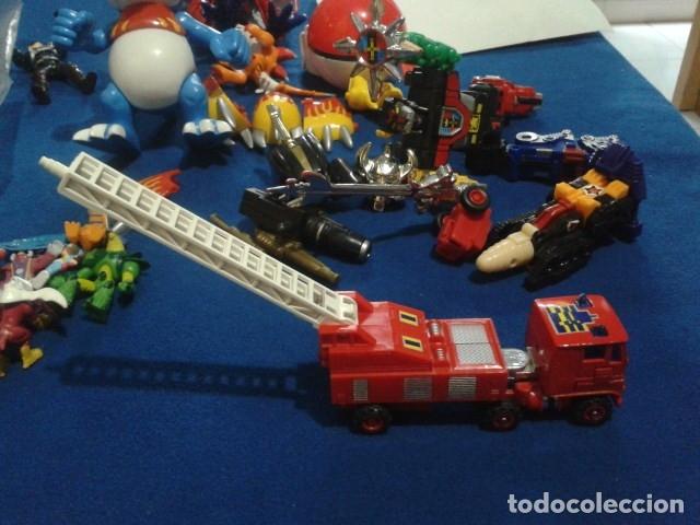 Figuras y Muñecos Transformers: FIGURA TRANSFORMERS G1 KO ( MC TOYS - CAMION DE BOMBEROS CON MECANISMO DE TRACCION ) DE LOS 80 - Foto 14 - 177322139