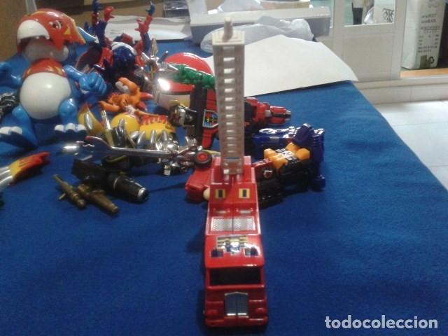 Figuras y Muñecos Transformers: FIGURA TRANSFORMERS G1 KO ( MC TOYS - CAMION DE BOMBEROS CON MECANISMO DE TRACCION ) DE LOS 80 - Foto 15 - 177322139