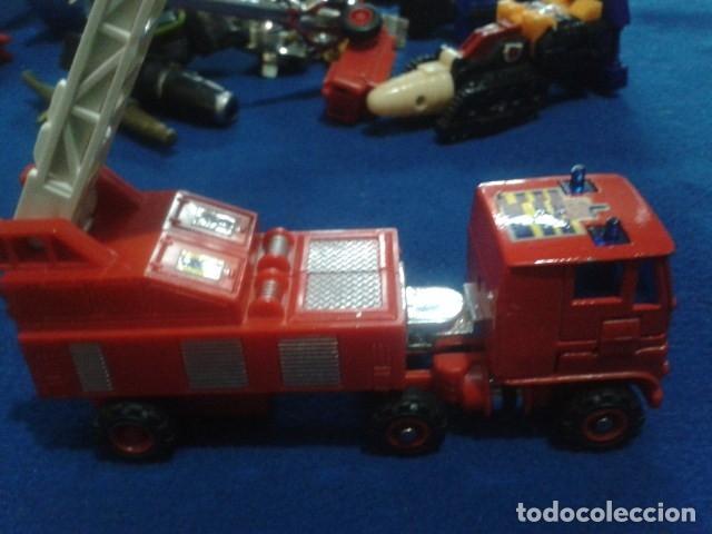 Figuras y Muñecos Transformers: FIGURA TRANSFORMERS G1 KO ( MC TOYS - CAMION DE BOMBEROS CON MECANISMO DE TRACCION ) DE LOS 80 - Foto 17 - 177322139