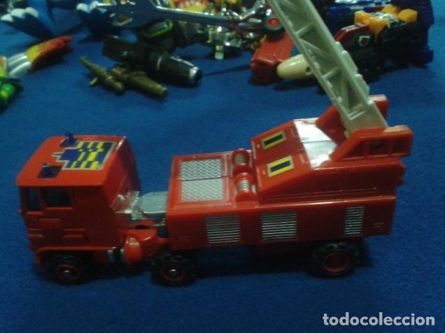 Figuras y Muñecos Transformers: FIGURA TRANSFORMERS G1 KO ( MC TOYS - CAMION DE BOMBEROS CON MECANISMO DE TRACCION ) DE LOS 80 - Foto 19 - 177322139