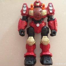 Figuras y Muñecos Transformers: ROBOT TIPO TRANSFORMERS - LUZ, SONIDO Y MOVIMIENTO - HAPPY KID TOY 2008 - 31 CM. Lote 177377318