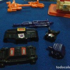 Figuras y Muñecos Transformers: TRANSFORMERS G1 HASBRO ACCESORIOS, ARMAS,TOTAL 5 PIEZAS ( STUNTICON - LIDER MOTOMASTER ) DE LOS 80. Lote 177897270