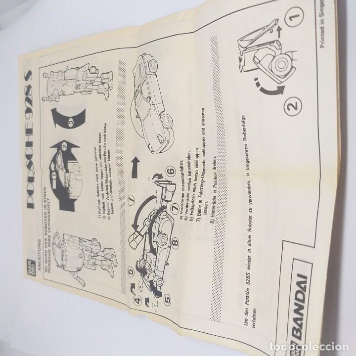 Figuras y Muñecos Transformers: ROBO MACHINE DX Porsche 928 S bandai - Foto 8 - 178371468