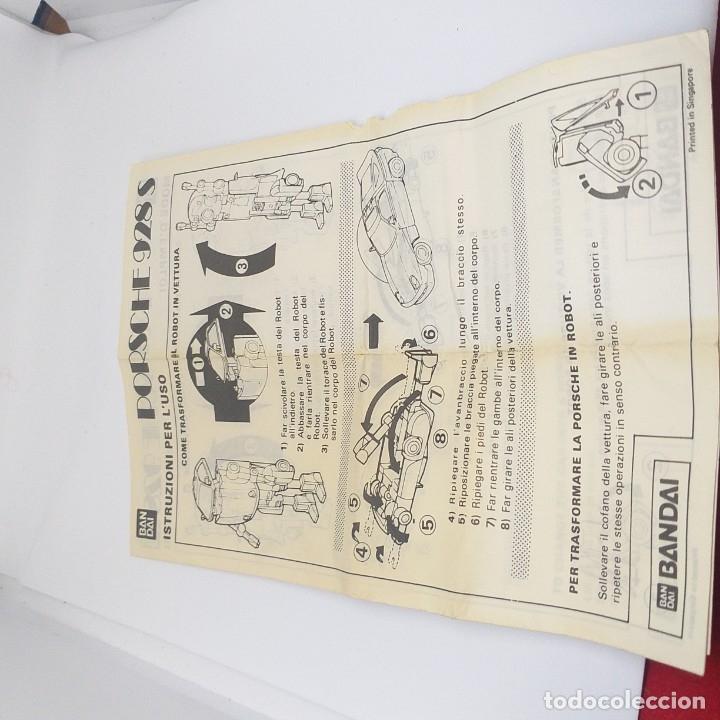Figuras y Muñecos Transformers: ROBO MACHINE DX Porsche 928 S bandai - Foto 9 - 178371468