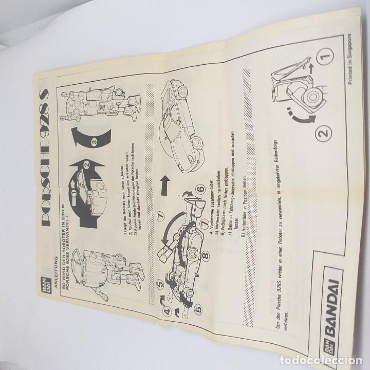 Figuras y Muñecos Transformers: ROBO MACHINE DX Porsche 928 S bandai - Foto 11 - 178371468
