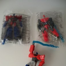 Figuras y Muñecos Transformers: TRANSFORMERS ROBOTS. OPTIMUS PRIME. HAPPY MEAL MCDONALD´S MCDONALDS. HASBRO. Lote 178443792