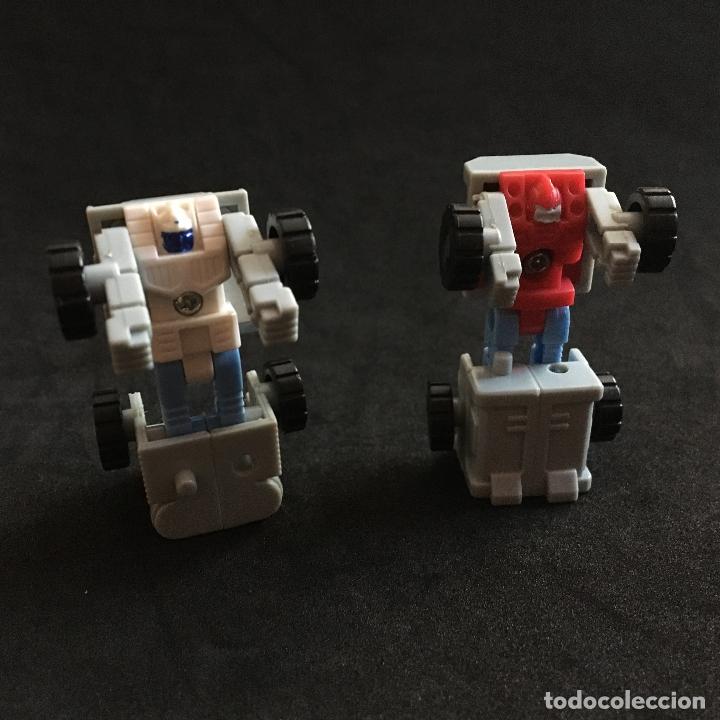 Figuras y Muñecos Transformers: figura muñeco camión TRANSFORMERS AUTOBOT ASTRO SQUAD microcombiner - Foto 2 - 179380561