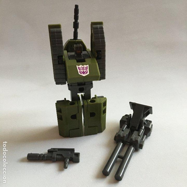 Figuras y Muñecos Transformers: figura muñeco TRANSFORMERS COMBATICON DECEPTICON BRAWL tanque hasbro 1986 - Foto 2 - 179381001
