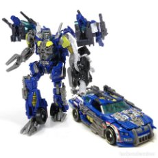 Figuras y Muñecos Transformers: TRANSFORMERS DARK OF THE MOON: TOPSPIN (2011) CLASE DELUXE, HASBRO, COMPLETO. Lote 179523151